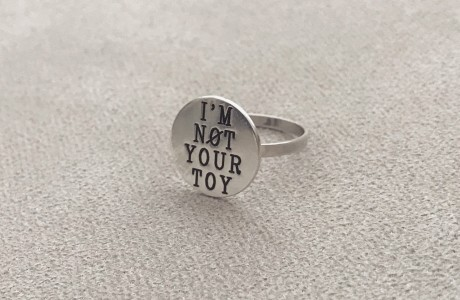 טבעת פלטה עיגול