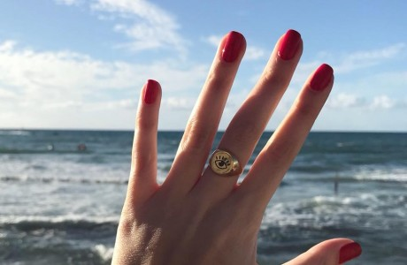 טבעת חותם גדול