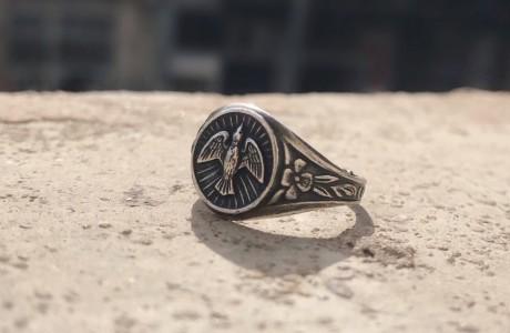 טבעת מטבע חותם