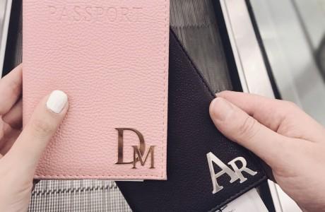 כיסוי לדרכון קלאסי